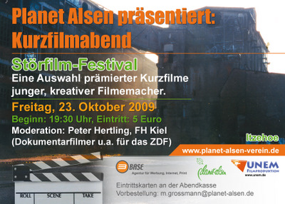 Störfilm-Festival 2009 Flyer